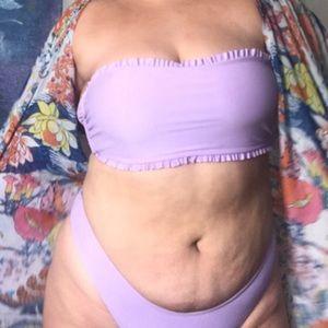 Lilac bathing suit